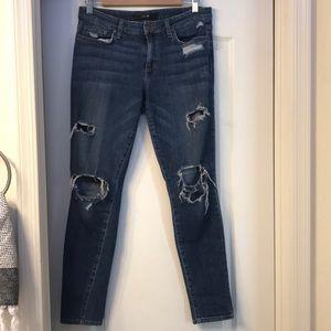 Joe's skinny distressed jeans